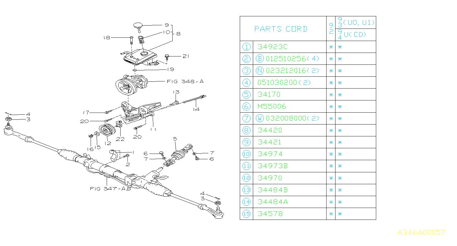 Subaru Svx Clamp Bearing Box  Gear Box Clamp  Steering