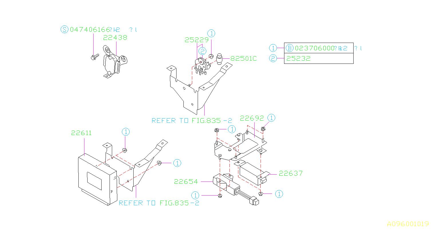 Subaru Svx Engine Control Module