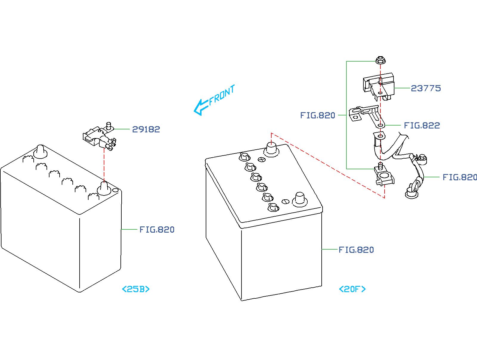 Subaru Forester Sensor Current  Alternator  Engine  Cooling