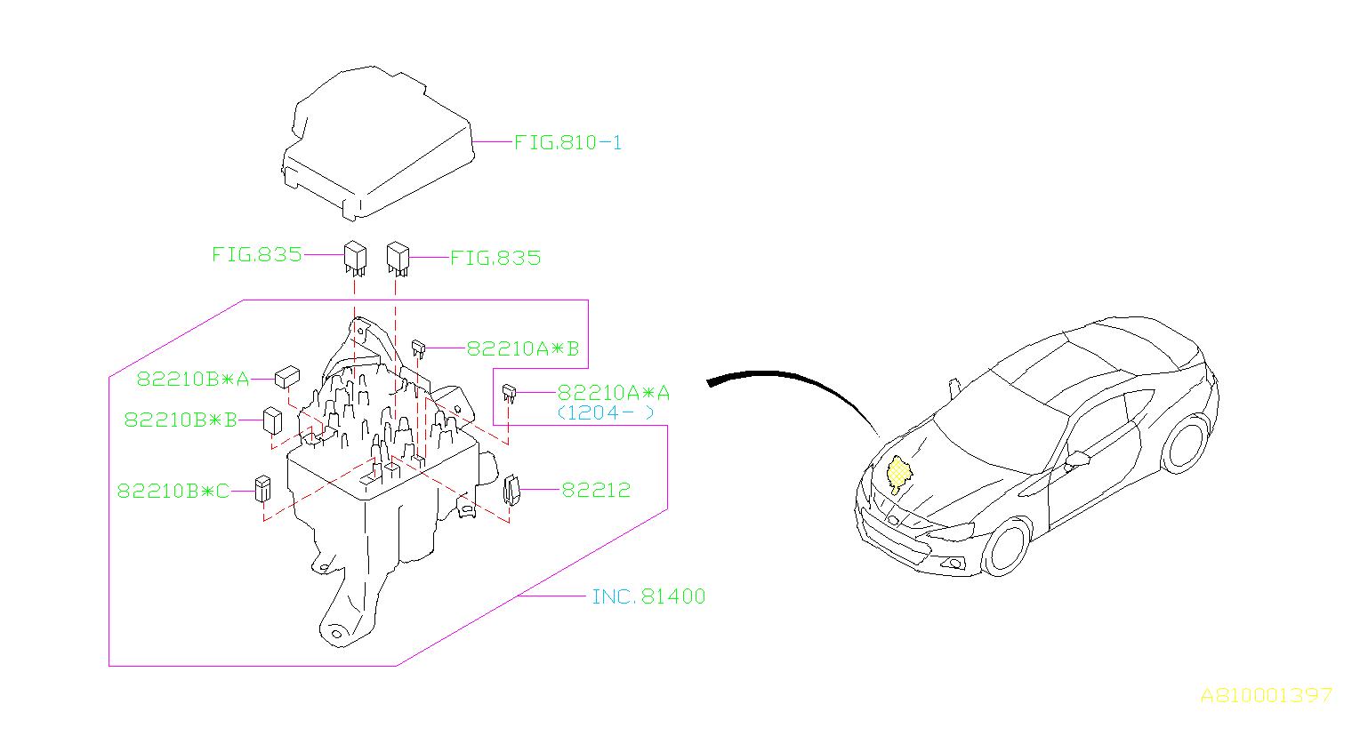 Subaru Brz Fuse Box