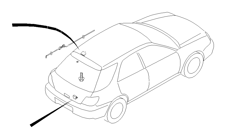 Subaru Impreza Radio Wiring Harness - 86325FE160 ...