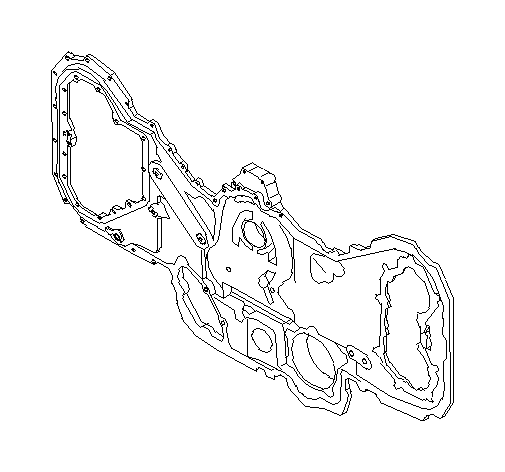 Subaru Tribeca Engine Timing Cover