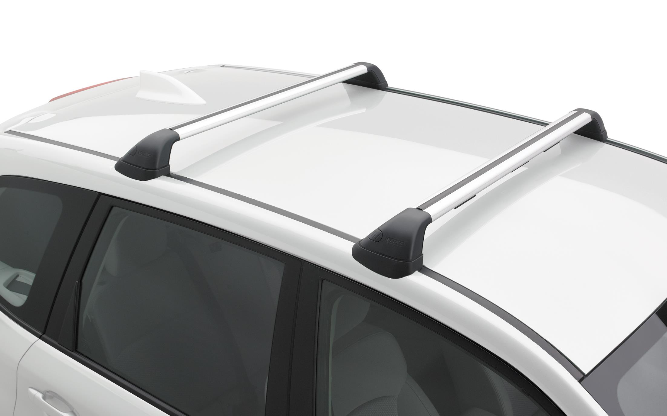 2017 Subaru Forester Cross Bar Set Fixed Carrier Base