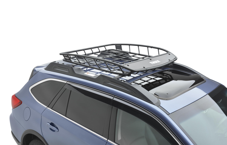 2017 subaru crosstrek thule heavy duty roof cargo basket. Black Bedroom Furniture Sets. Home Design Ideas