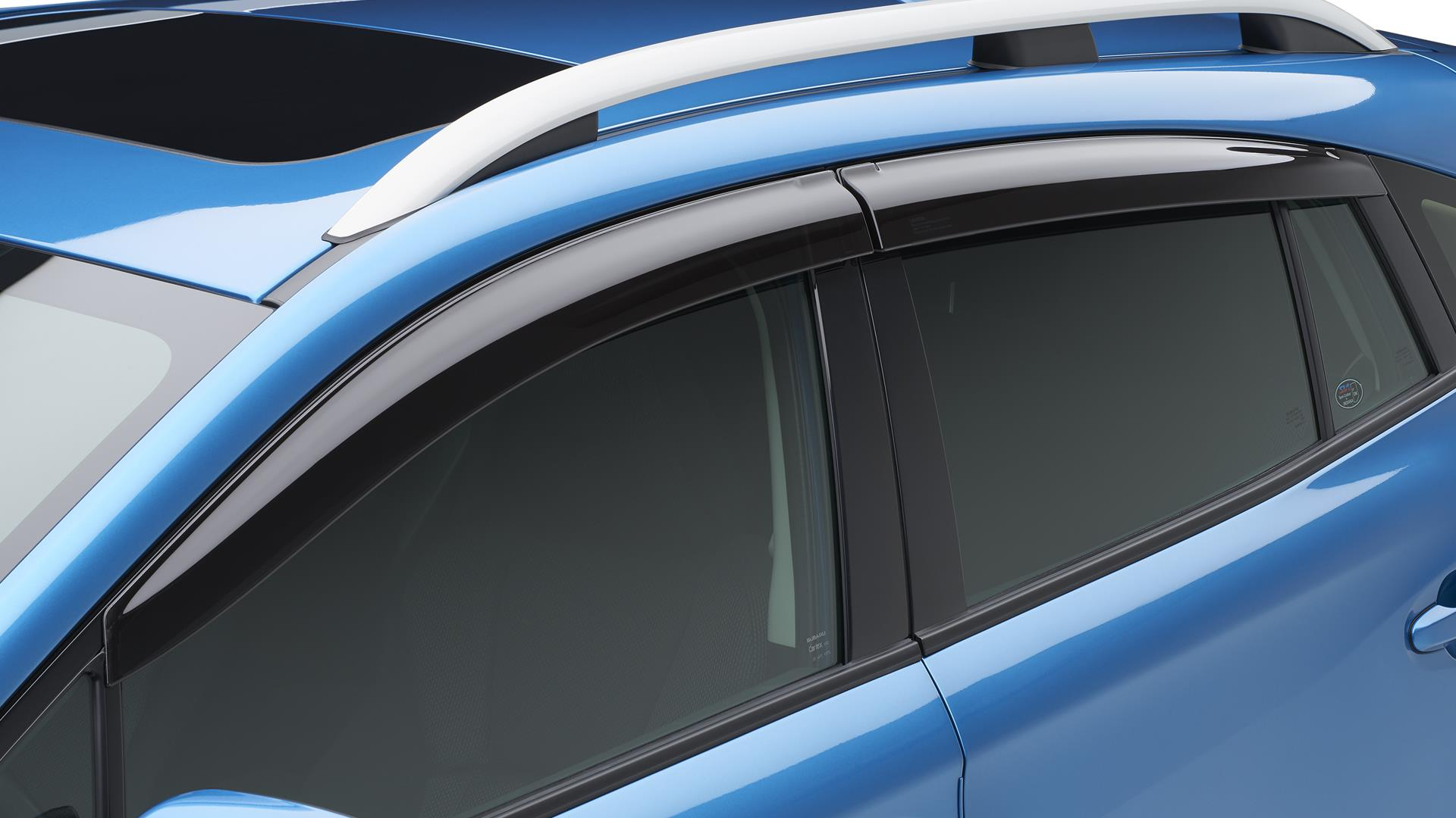 Subaru Crosstrek Side Window Deflector - 5 door ...